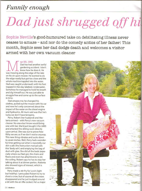 Sophie Neville's book 'Funnily Enough' serialised in iBelieve magazine
