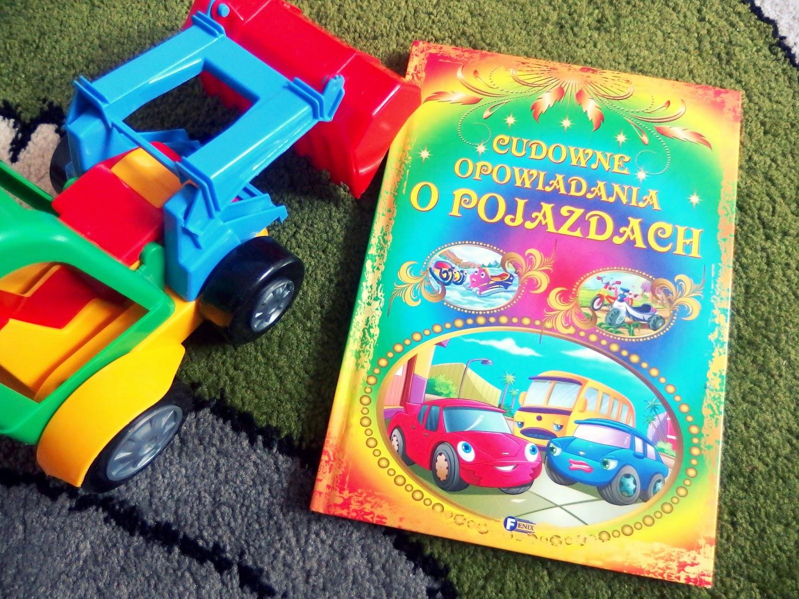 książka opowiadanie o pojazdach