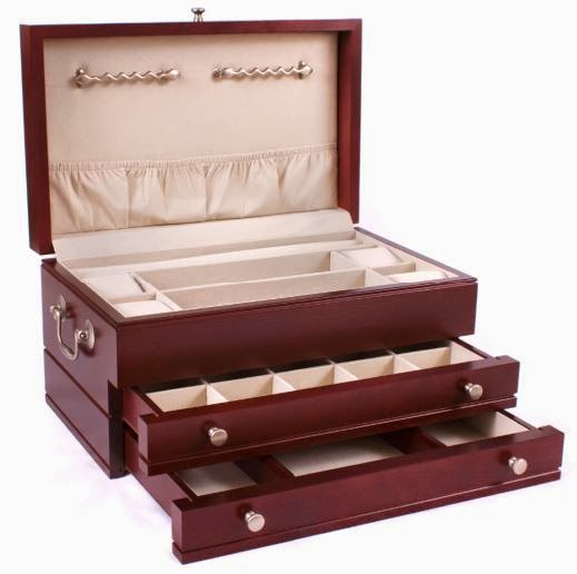solid wood jewelry box