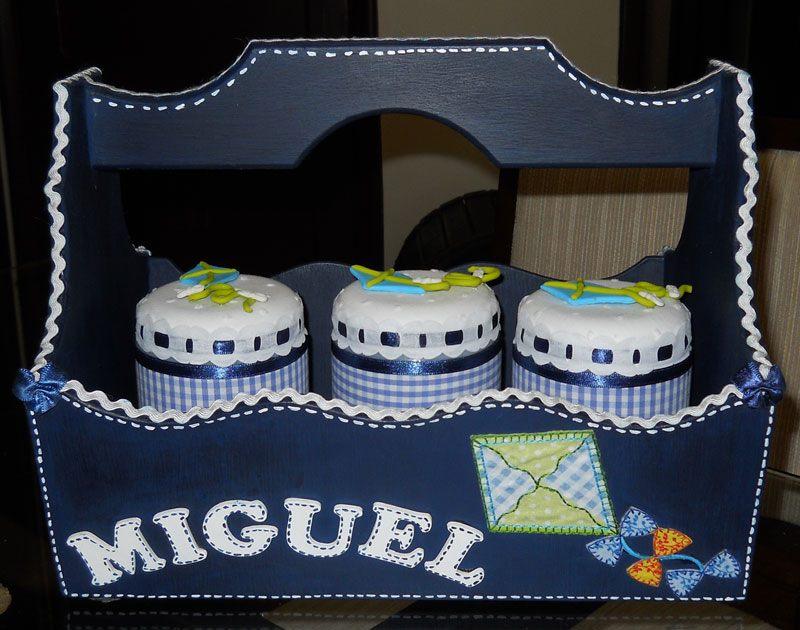 Kit higiene bebê Pipa Miguel