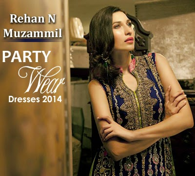 Rehan & Muzammil Party Wear Collection 2014-2015