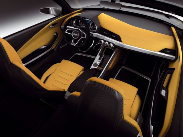 Audi Crosslane Coupé interior