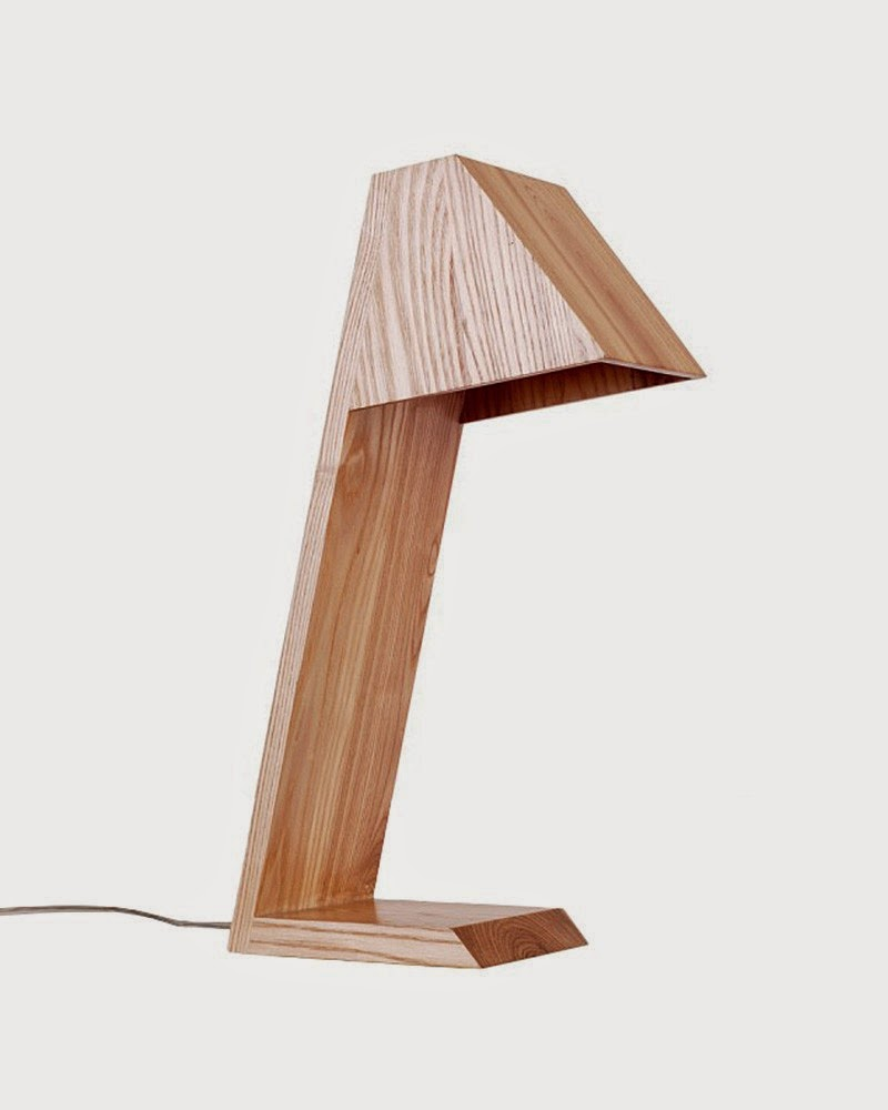 Design inspiration wooden table lamps luxaflex for Lamp wooden