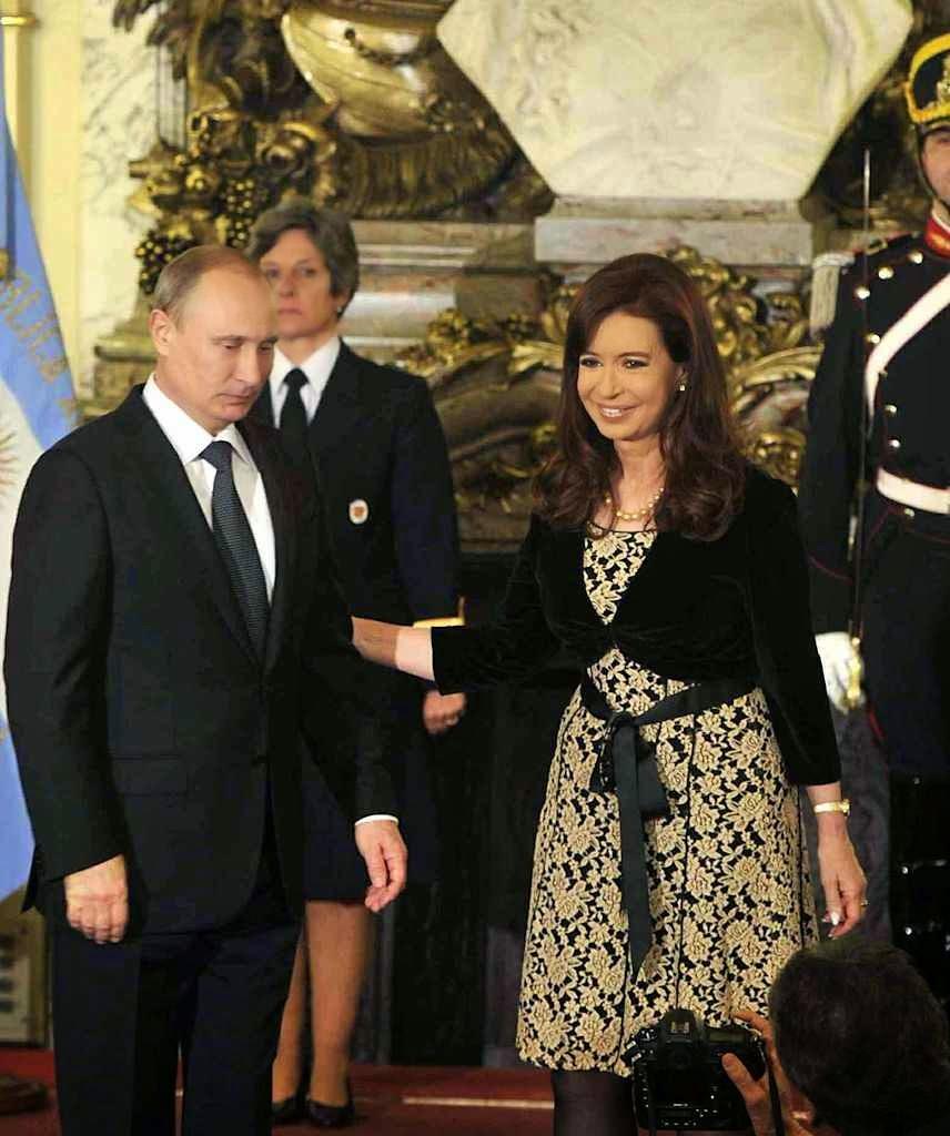 """Na Casa Rosada: """"a Argentina é hoje  o principal sócio estratégico da Rússia"""""""