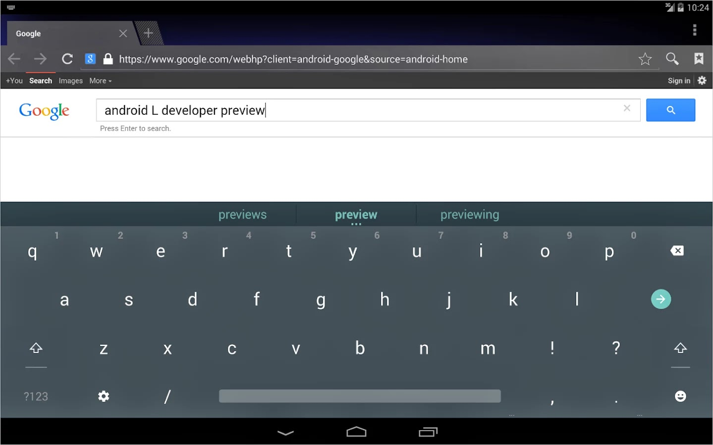 Android L Keyboard v3.1.20008