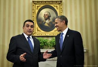 La vidéo officielle de la rencontre Obama et Jomaa