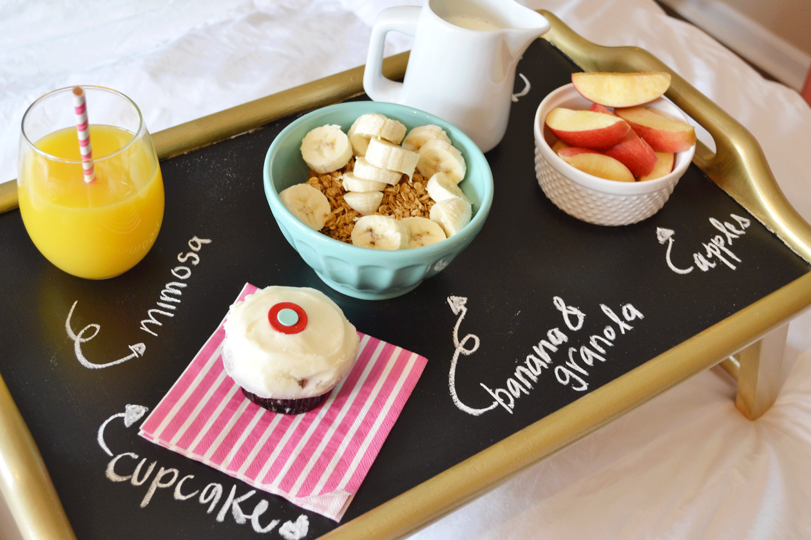 All Things Pink And Pretty How To Breakfast In Bed