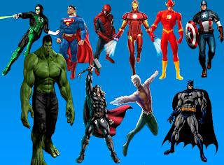 10 SuperHeroes mas famosos