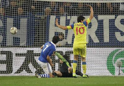 Schalke 2 - 1 Steaua Bucuresti (2)