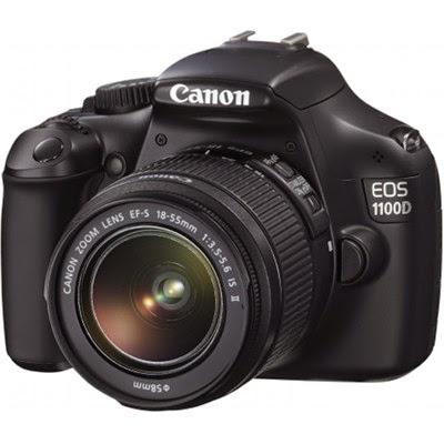 Kamera DSLR Canon Eos 1100D