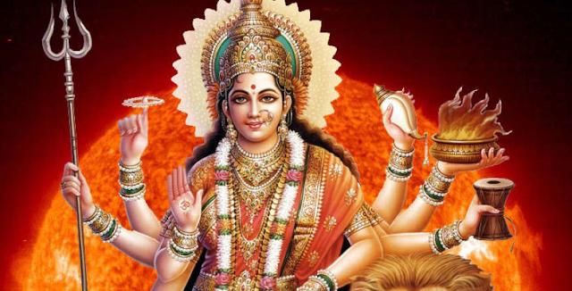 नवरात्रे के तीसरे दिन माता चंद्रघंटा की पूजा