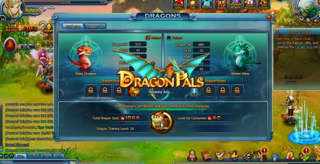 dragon browser game