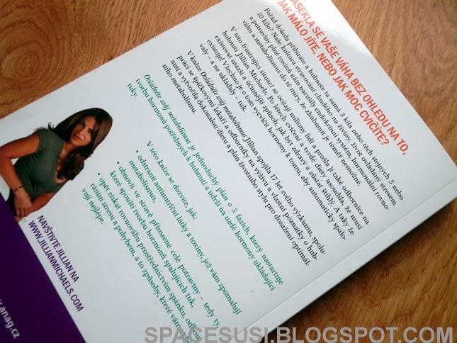 kniha od Jill, zdravý způsob života, kortizol