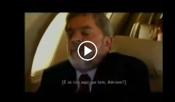 Vídeo mostra Lula rejeitando comida e sendo grosso com funcionários em avião; assista
