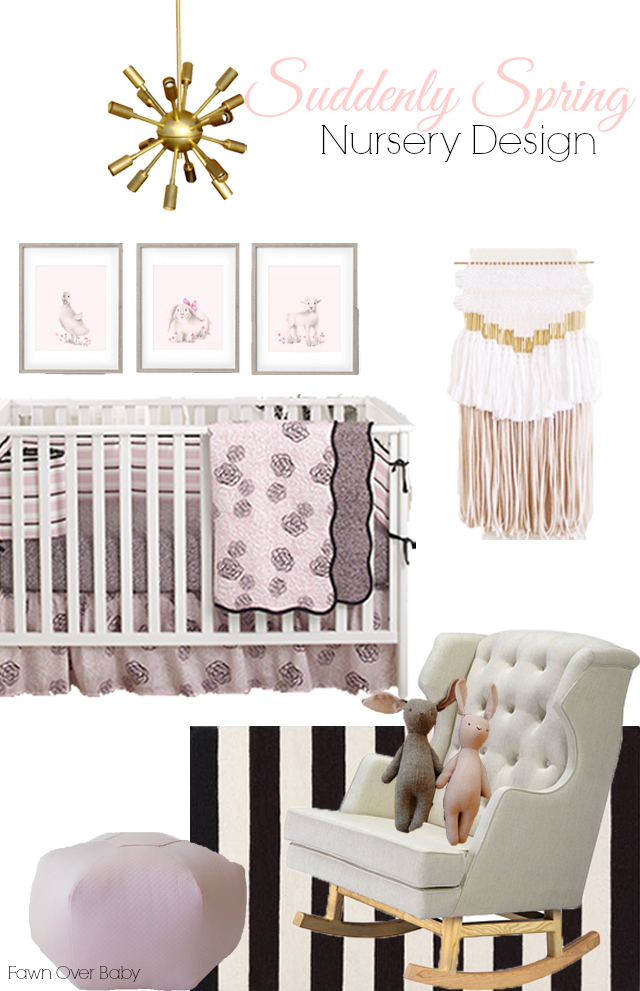 Fancy Balboa Baby Bedding Inspired Nursery Design