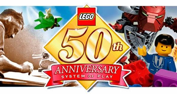 50 aniversario de LEGO