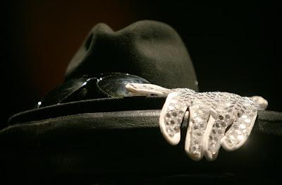 Michael Jackson Fedora Glove