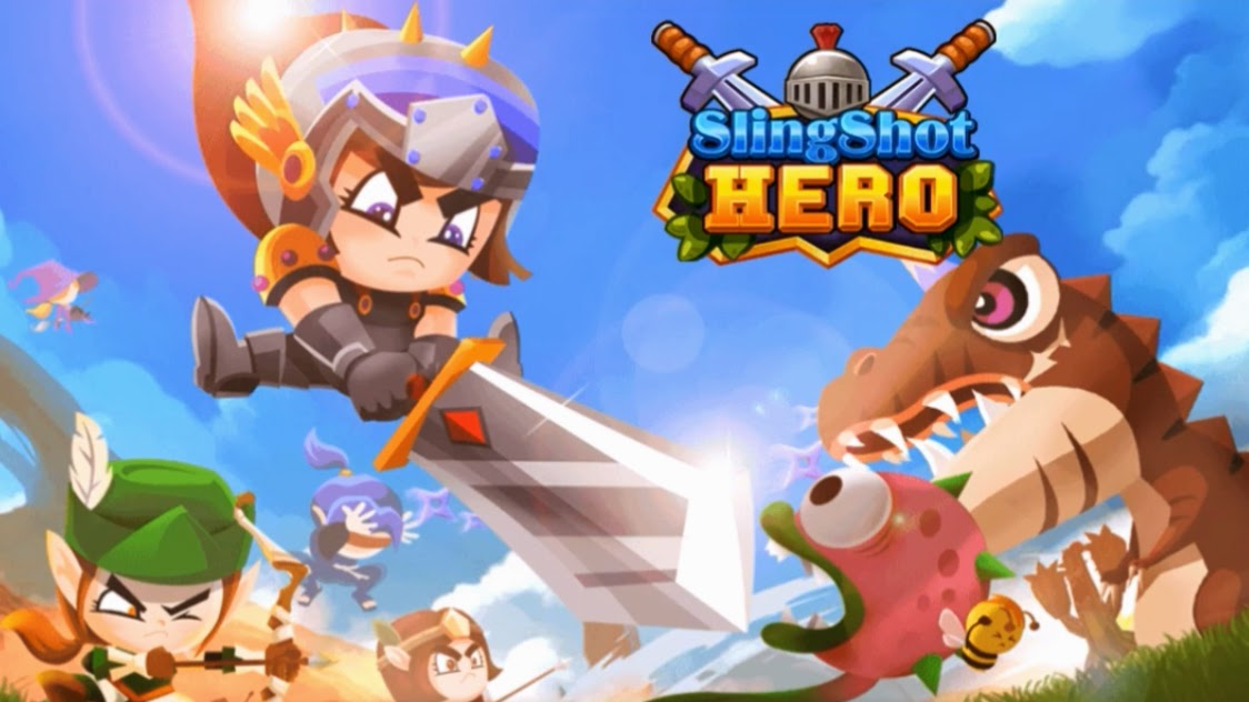 Slingshot Hero Gameplay Android