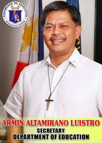 Armin Luistro DepEd Secretary