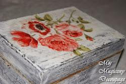 Me różane pudełko:)