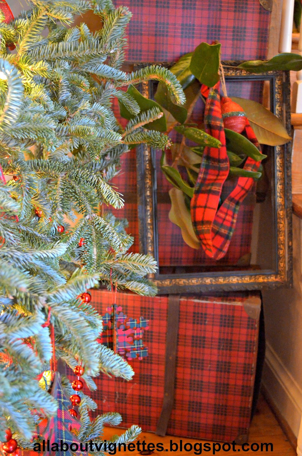 All About Vignettes 2014 Holiday Christmas Tree In