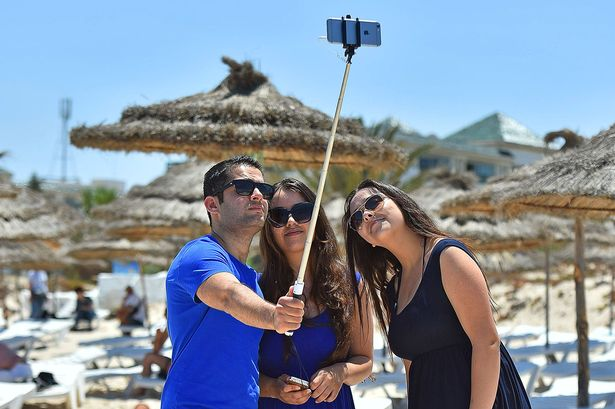 Anger As Tourists Take Selfies At Site Of Tunisia Massacre