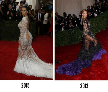 Beyonce Vs Kim Kardashian. Who Wore It Best?