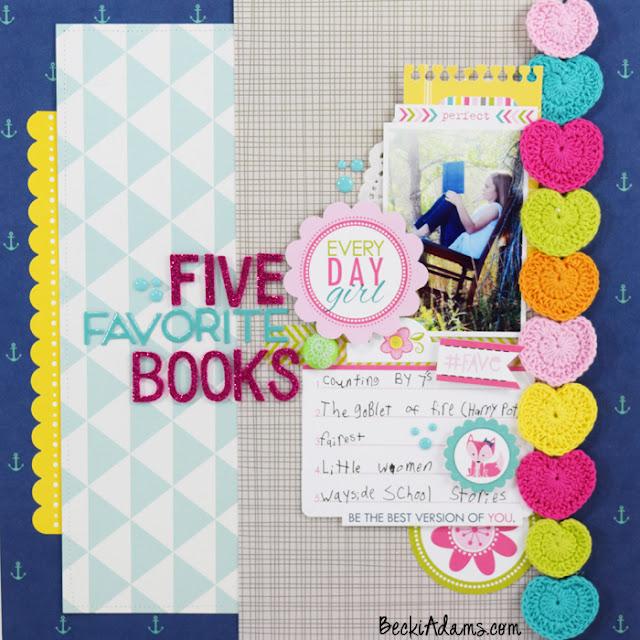 Becki Adams #scrapbooking #memorykeeping #papercrafting