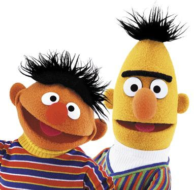 Most Popular Sesame Street Characters bert and ernie
