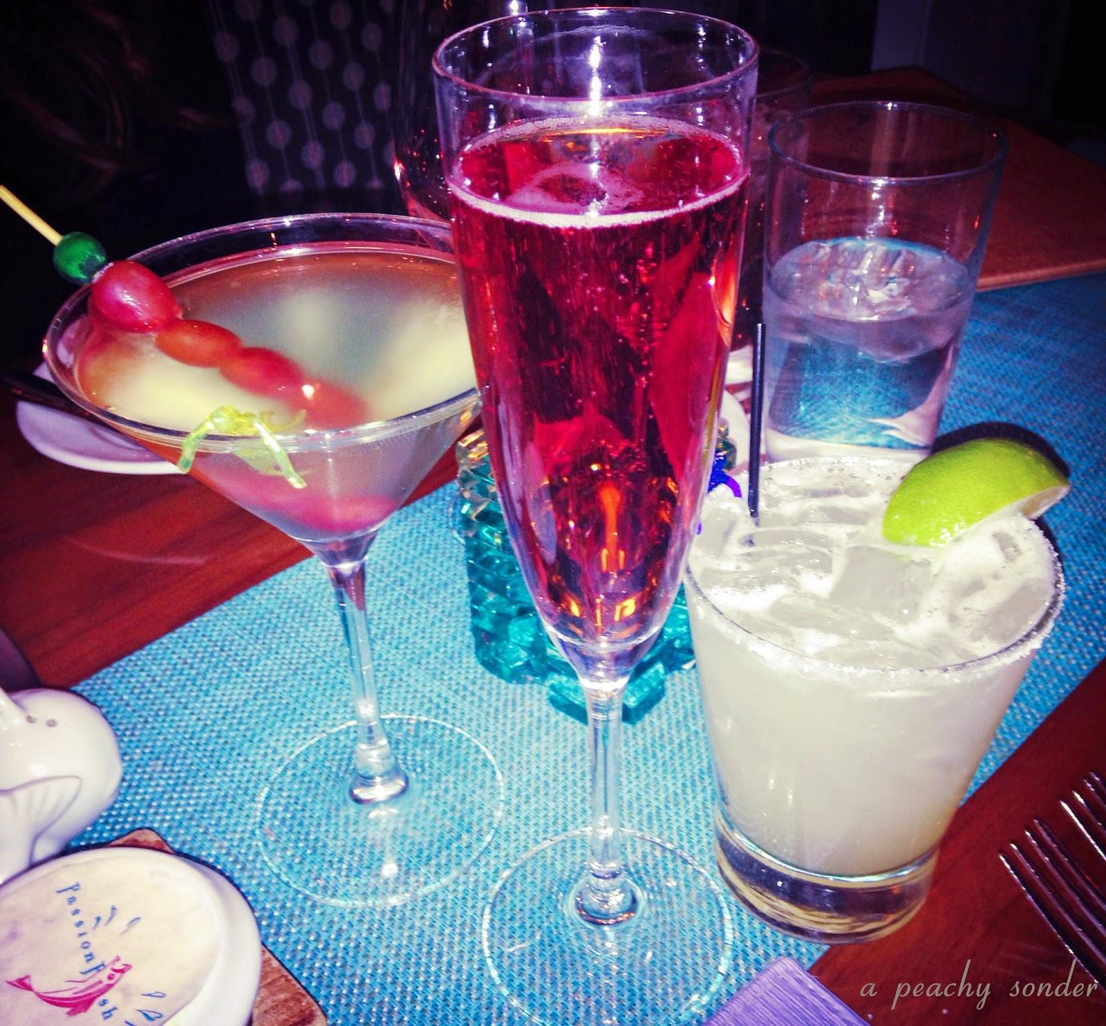 Passionfish, cocktails