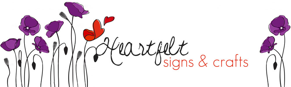heartfelt signs and crafts