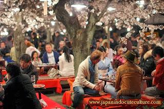 Hanami, melihat bunga sakura di Jepang