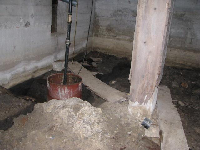 The Swamp Chronicles The Bathroom Basement Sinking The Sump Pump