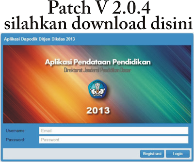 Download Patch dapodik 2.0.4