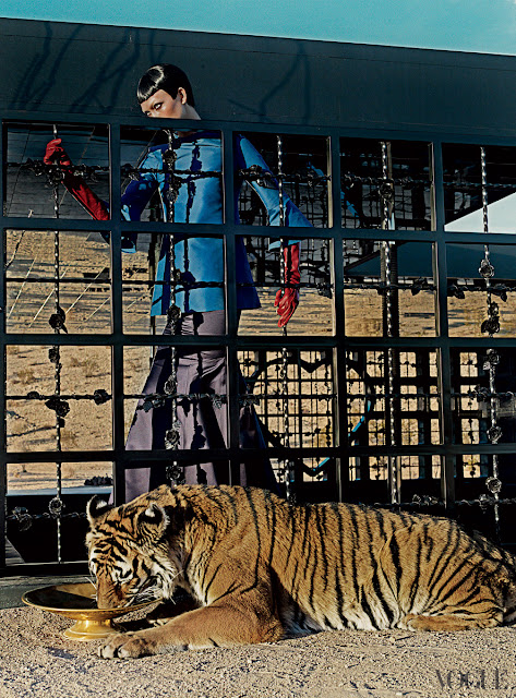 Karlie Kloss by Steven Klein US Vogue March 2013-2