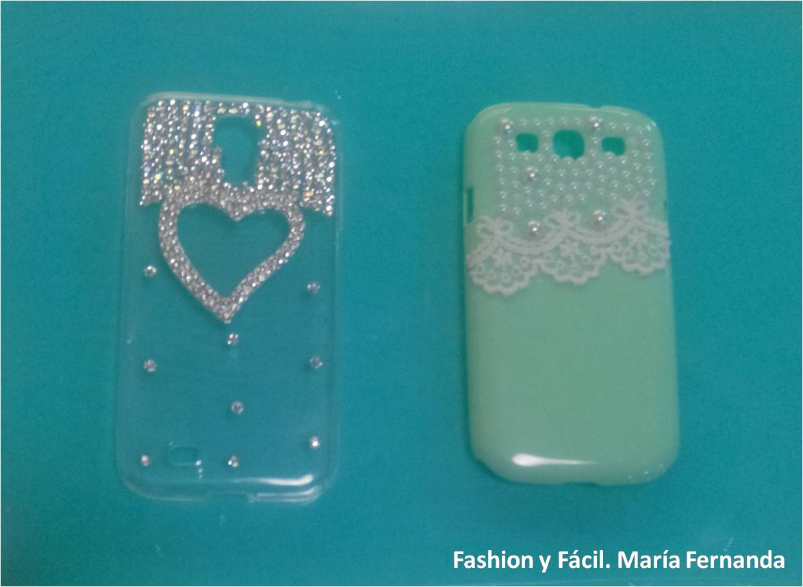 Fashion y f cil decora tus fundas para m vil con - Decorar funda movil ...
