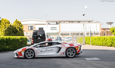 Blancpain Aventador Lead Car.