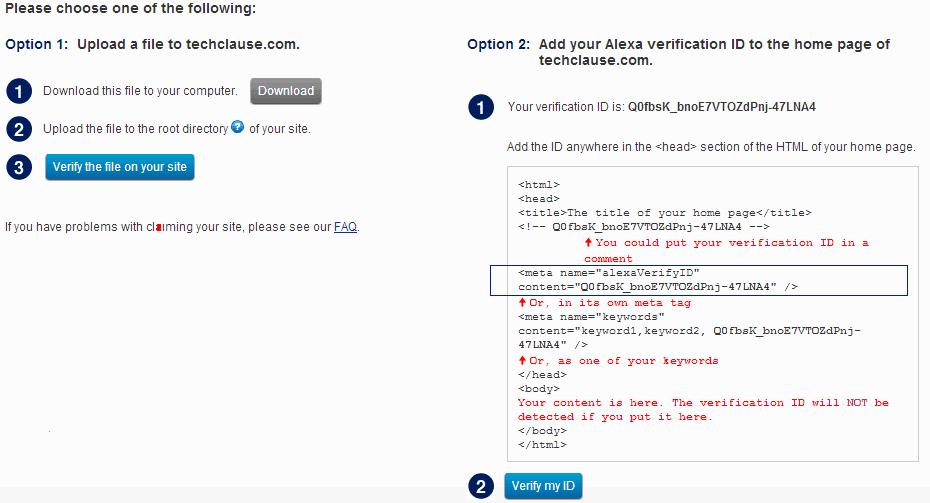 Klaim Kepemilikan Situs Di Alexa