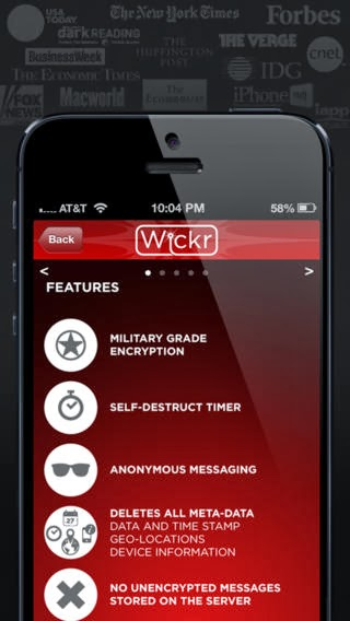 Send your self destruct messages the secure way with a all new Android App called Wickr Self-Destruct Messaging
