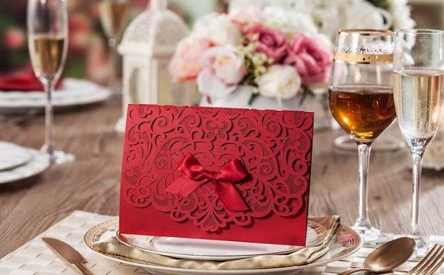 Mẫu thiệp cưới đẹp  đơn giản nhưng ấn tượng
