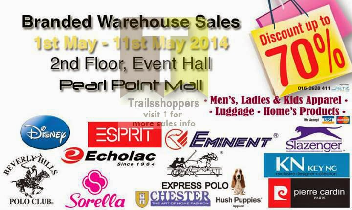Branded Warehouse Sale Discounts up to 70