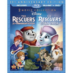 The Rescuers 35th Anniversary Edition release date DVD Blu Ray