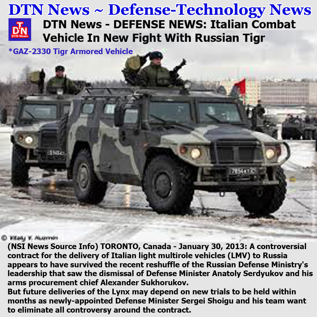 He also claimed tigr m provides adequate armor protection which covers a larger area of the vehicle interior than the italian vehicle