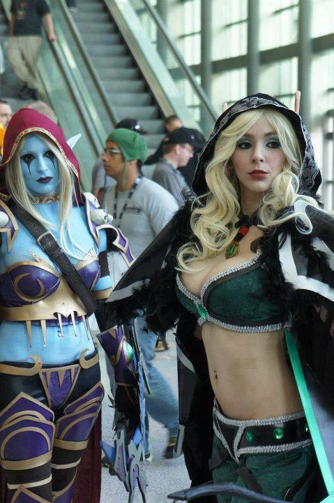dota girls cosplay