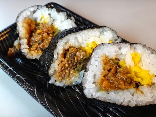 近江牛巻き寿司(肉みそ)