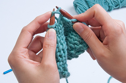 pick up dropped purl stitch crochet hook To pick up a dropped stitch, insert your crochet hook into the loop on the to the other side and picking up another knit stitch over a purl bump.