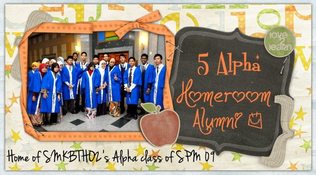 5 Alpha Homeroom Alumni
