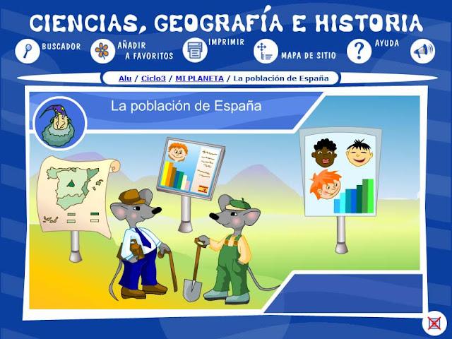 Población de España