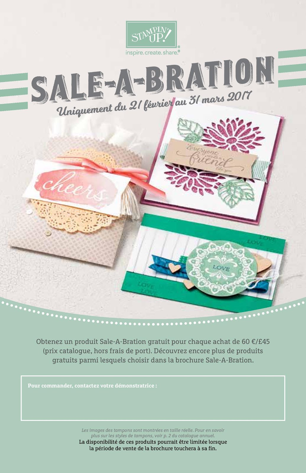 2nde Brochure Sale-A-Bration