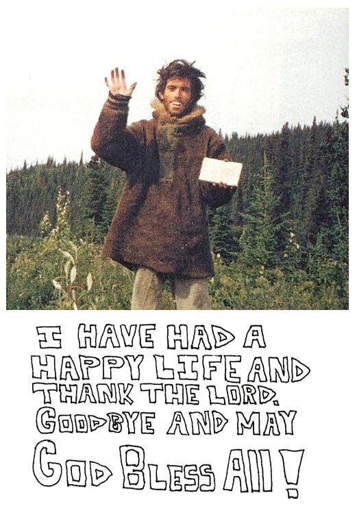 an analysis of chris mccandless a character in the book into the wild Using 'into the wild' by jon krakauer write a minimum five paragraph mla essay in which you determine the character of chris mccandless while citing evidence from the book.